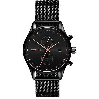 MVMT D-MV01-BBRG Watch-Milanese Black mäns Maille multifunktions klocka
