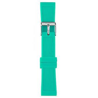Watch I Am The Watch IAM-201 - Green Bracelet of Water Clear Loop Steel / Medium 18 mm