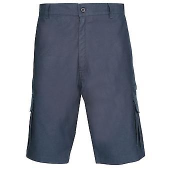 Champion Short de Mens Multi poche 100 % coton été Cargo genou longueur