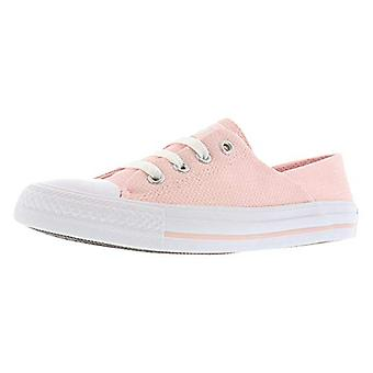 Converse Womens Ctas Koralle Ochse Canvas Low Top Lace Up Fashion Sneakers