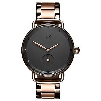 MVMT D-FR01-TIRG Watch - Steel Dor Rose Black Women's Dial