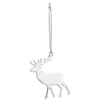 Hill Interiors Brass Hanging Stag Decoration