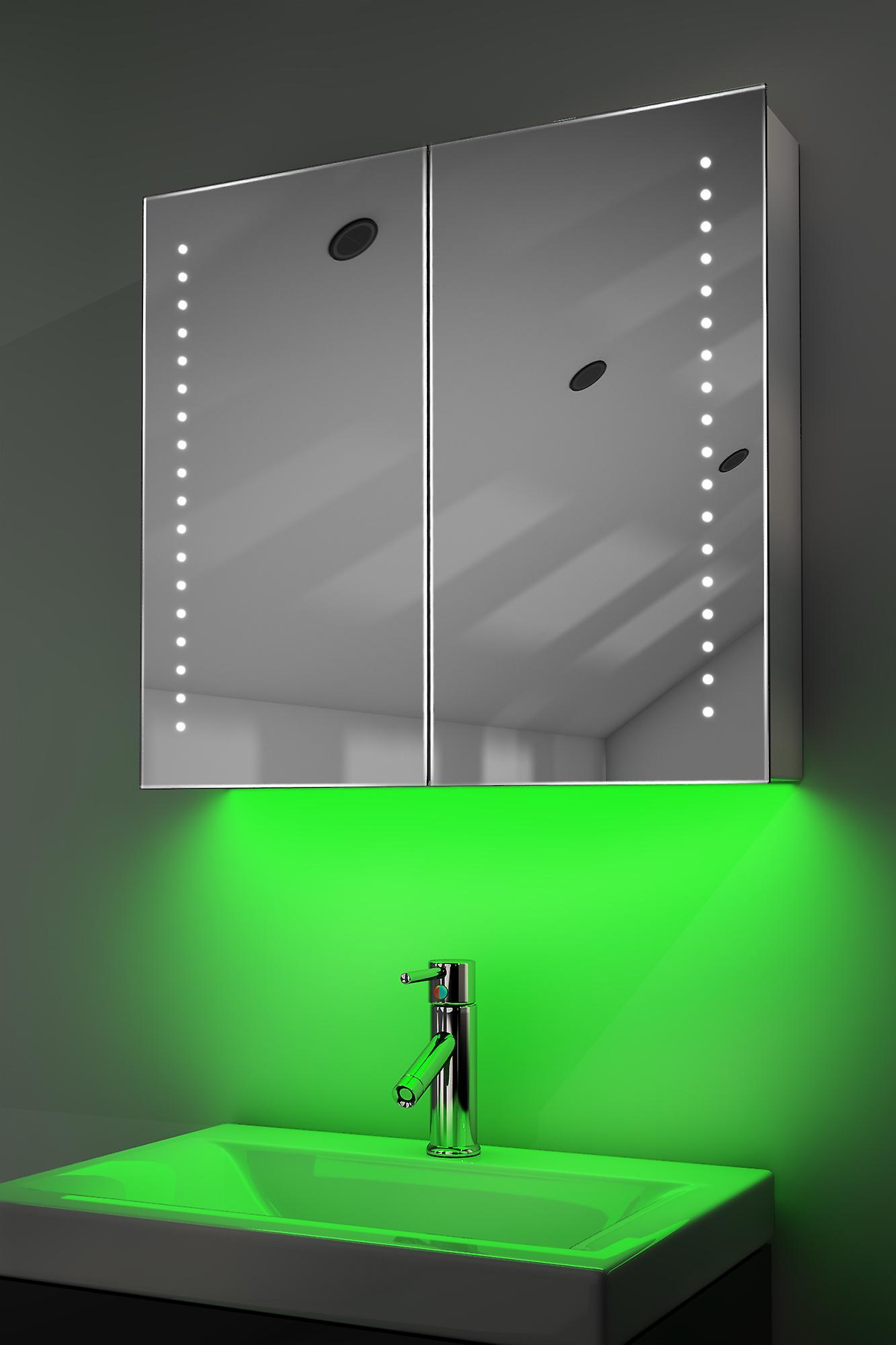 Armoire avec RGB, capteur & interne rasoir k357rgb de désembuage