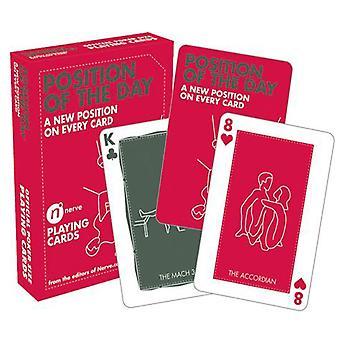 Päivän peli korttien sijainti