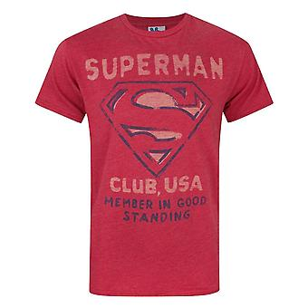 Junk Food Superman Club EUA Men's T-Shirt