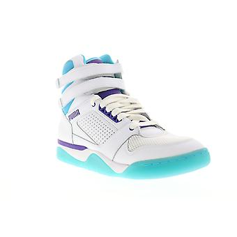 Puma Palace Guard Mid Queen City Mens White High Top Sneakers Buty