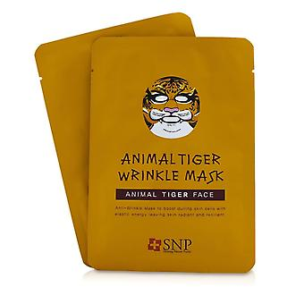 Animal Tiger Wrinkle Mask 10x25ml/0.84oz