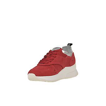 Liu Jo Ezgl060065 Women's Red Fabric Sneakers