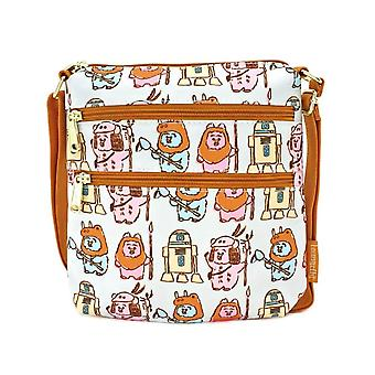 Loungefly x Star Wars Pastell Ewok Nylon Cross Body Bag
