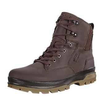 ECCO 838074 Rugged Track Men's Lace-up Hydromax Boots In Coffee