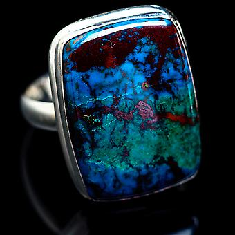Large Shattuckite Ring Size 13.25 (925 Sterling Silver)  - Handmade Boho Vintage Jewelry RING1721