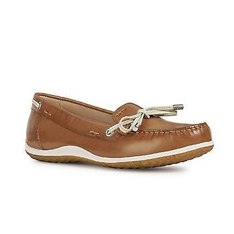 Geox naisten/Ladies D Vega Moccasin lipsahdus kenkä