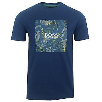 Hugo boss men's navy troaar 5 t-shirt