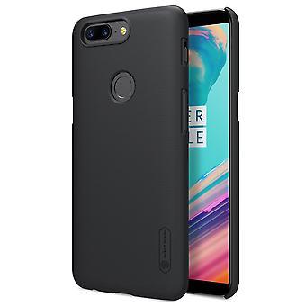 NILLKIN OnePlus 5T casca fosca hard-black