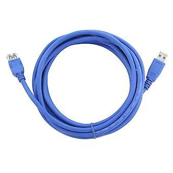 USB 3.0 A a USB A Cabo GEMBIRD/Azul/3 m