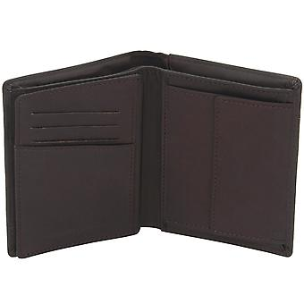 Friedrich Leather Goods Purse Leather Brown Dark Brown RFID Protection