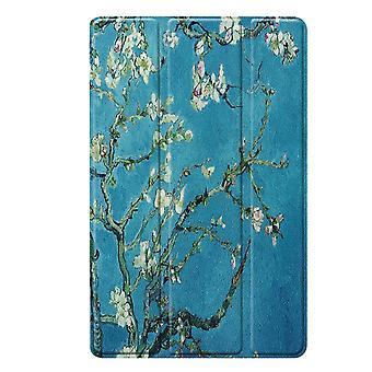 Slim Fit Cover für Samsung Galaxy Tab A 10.1 2019-Baum mit Blumen