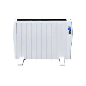 Digitale dry thermal electric radiator (10 kamer) Lodel RA10 1500W Wit