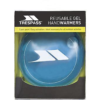 Trespass Cosie uudelleenkäytettäviä Gel Handwarmers (2 kpl pakkaus)