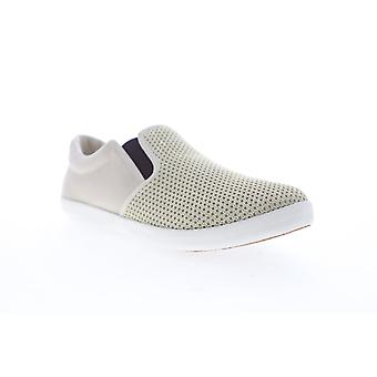 Tommy Bahama Kai  Mens Beige Tan Mesh Slip On Sneakers Shoes