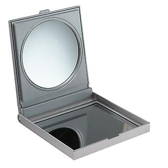 FMG Free Standing Travel Mirror in Case 5X Magnifying - Silver