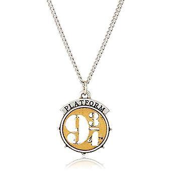 ALEX AND ANI Brass Woman Pendant Necklace - AS18HP15TTRS