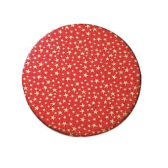Culpitt 10-quot; (254mm) Christmas Stars Double Thick Round Cake Card