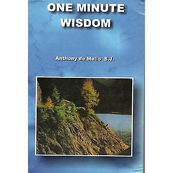 One Minute Wisdom by Anthony De Mello - 9788187886242 Book
