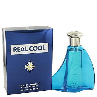 Real Cool Eau De Toilette Spray By Victory International 3.4 oz Eau De Toilette Spray