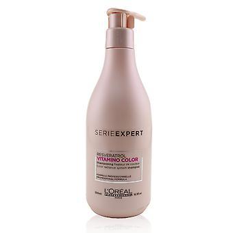 Professionnel serie expert vitamino color resveratrol color radiance system shampoo 245679 500ml/16.9oz