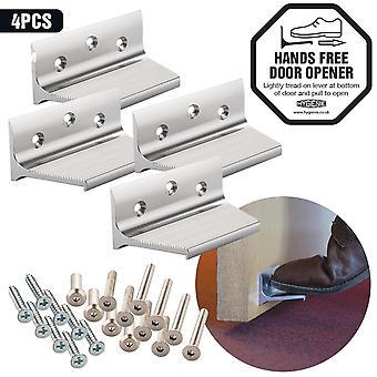Hygienie hands free sanitary foot pull door opener (4-pack)