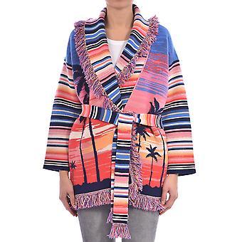 Alanui Lwhb001r200010138888 Women's Multicolor Cashmere Cardigan