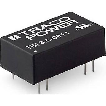 TracoPower TIM 3.5-0919 Convertidor CC/CC (impresión) 389 mA 3.5 W No. de salidas: 1 x