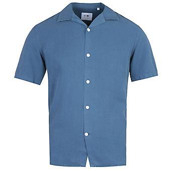 NN07 5029 Miyagi Shirt Sleeve Washed Navy Shirt