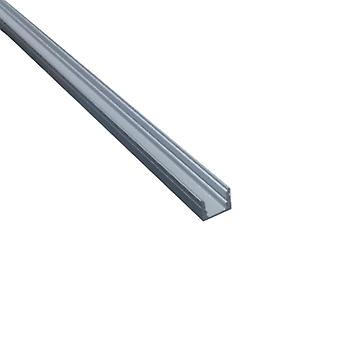 Jandei Profile Narrow Aluminum Strip LED 2 Meters Surface 7.5x9mm