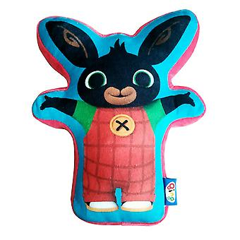 Bing Childrens/Kids Official Bunny Character Shaped Cushion