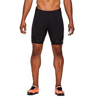 Asics Moving Mens Exercise Fitness Compression Baselayer Sprinter Short Black