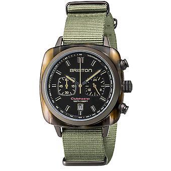 Briston Clubmaster Sport Quartz Chronograph Mens Watch 18142.PKAM. TJS.19.NJ