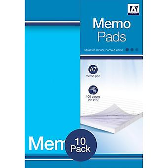 Anker Mini Memo Pads (Pack of 10)