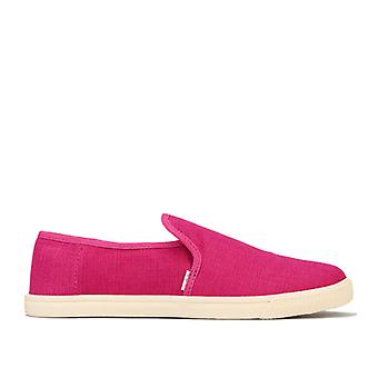 Women's Toms Clemente Slip-On Pumps in Pink
