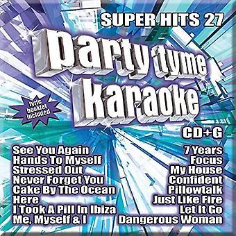 Party Tyme Karaoke - Super Hits 27 (16 So [CD] USA import