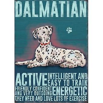 Dalmatian Metal Sign