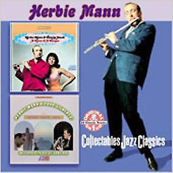 Herbie Mann - Mann & en kvinna/Herbie Mann & J [CD] USA import