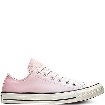 كونفيرس تشاك تايلور كل نجمة أوكس النساء أحذية وردي لايت الأحذية