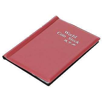 Coin Collection Organizer - 120 Pockets Album Book