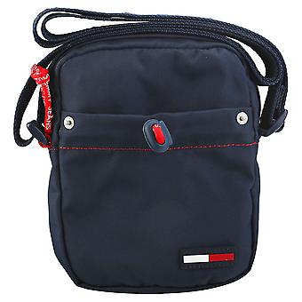 Tommy Jeans Campus Boy Mini Reporter Unisex Classic Side Bag in Navy
