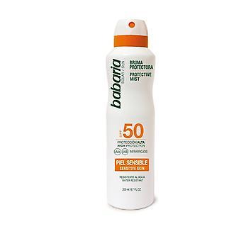 ضباب SPF 50 ضباب واقية للجلد الحساسة 200 مل