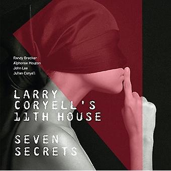 Coryell, Larry ( Larry Coryell's 11th House ) - Seven Secrets [CD] USA import