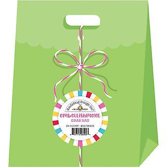 Doodlebug Design Embellishment Grab Bag (29pcs) (6569)