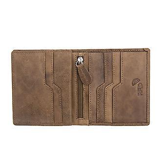 Primehide Mens Leather Card Holder Wallet RFID Blocking Gents Card Wallet 3902